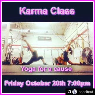 Yoga Karma Class 10.20.17