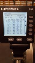 400m repeats 161207
