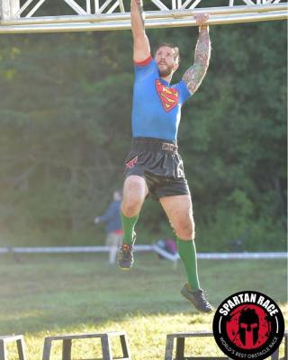 Shaun Hanging Spartan