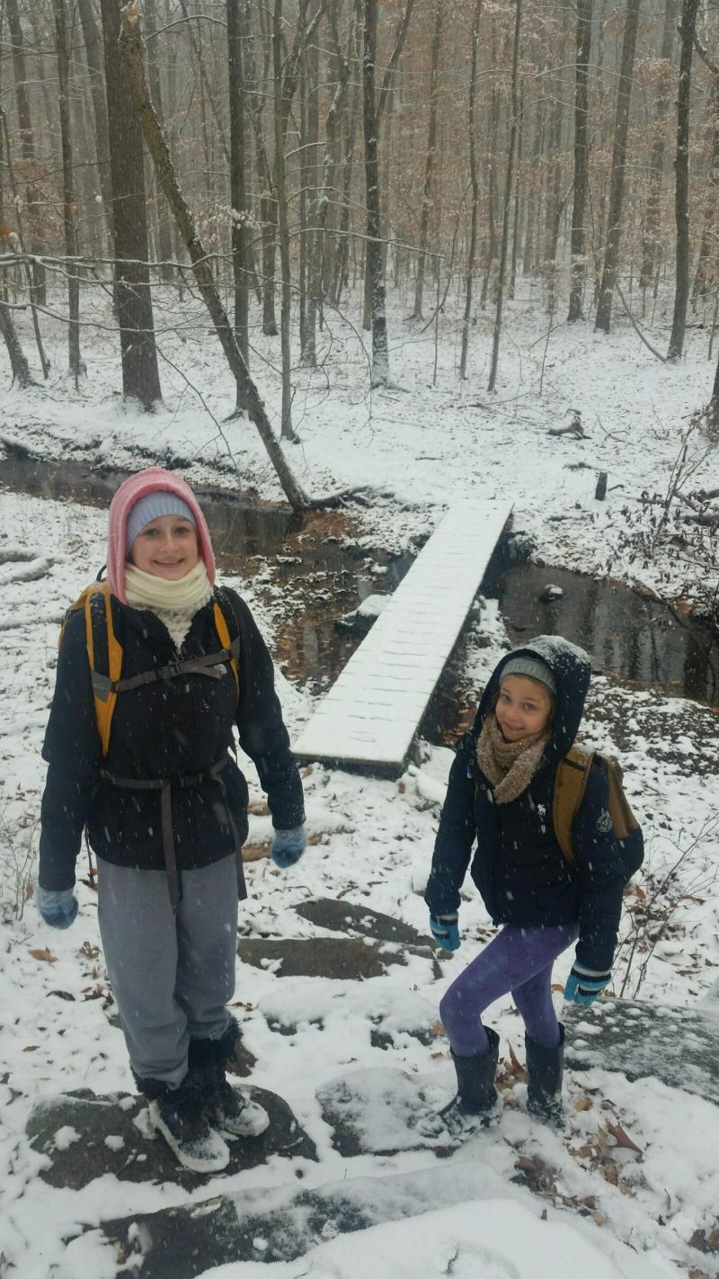 Hiking Girls Dec