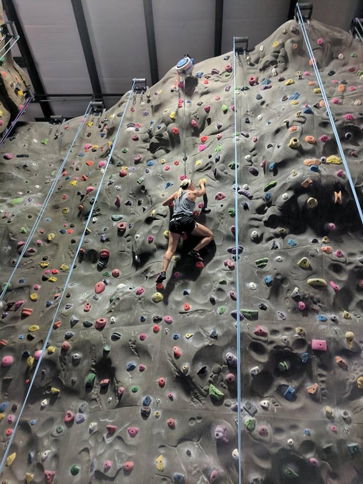 CFP Rock Climb -