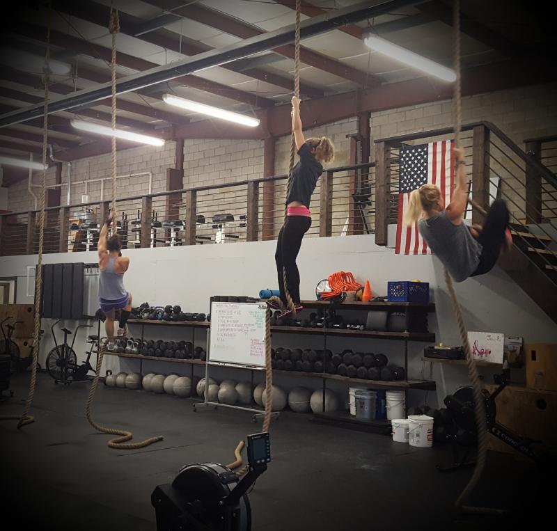 Ropes 7 girls -