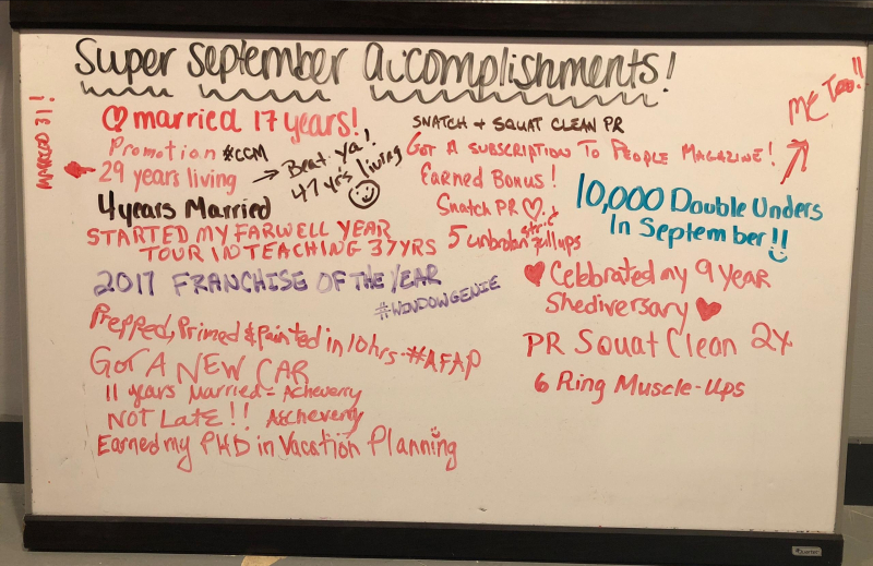 September Board