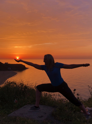 Yoga Sunset JD -