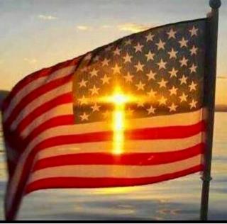 Flag cross -