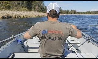 FOSS row boat -