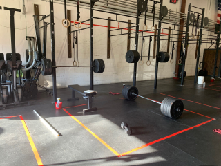 All the barbells -