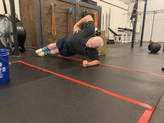 Side plank -